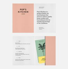 Pop's Kitchen —Identity, 2016 on Behance