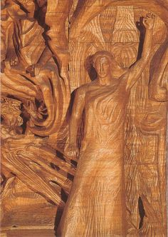 Rudolf Steiner - the Sculpture of the Representative of Man -> Christ