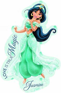 Disney's Jasmine new look Princess Movies, Princess Photo, Walt Disney, Disney Art, Disney And More, Disney Love, Princess Illustration, Jasmine Party, Centerpieces