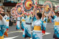 Held annually in the month of August in conjunction with Bon Festival, the Shan-Shan Matsuri Festival welcomes residents of all walks of life to participate in a dancing parade.