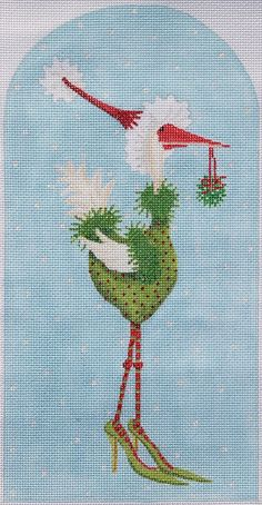 Patience Brewster Angela Goose, from Kate Dickerson Needlepoint Collections
