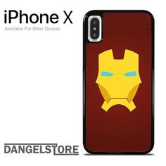The Mask of Iron man For iPhone X