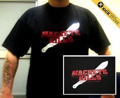 Machete Kills  - Black - by Kick Agency! #tshirts No #fashion but #funny #clothing #tshirt #kickagency #magliette #tees