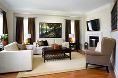 30 elegant american style living room designs from jane lockhart - American Living Room Design