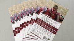 Flyer im Sonderformat für die Togohilfe!