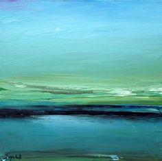 """Saatchi Online Artist: Jacob Jugashvili; Oil 2011 Painting """"Big Lake XV"""""""