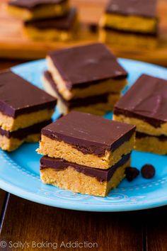 No-Bake Reeses Peanut Butter Bars.