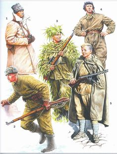 Russian Uniforms. II Guerra Mundial