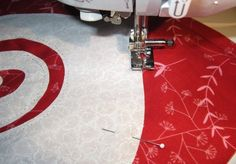 Raw Edge Machine Applique Basics