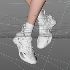 Colani Design, Futuristic Shoes, Ugly Shoes, 3d Printing Technology, Cool, Yeezy, Designer Shoes, Archive, Sketch
