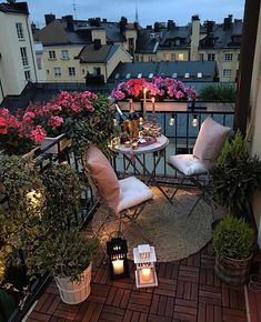 Do you have a small balcony? Do you need the inspiration ...