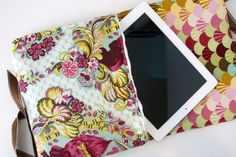 There are a lot of awesome iPad cover tutorials out there, but this is one of my favorite ones. I can see myself making quite a few of these.