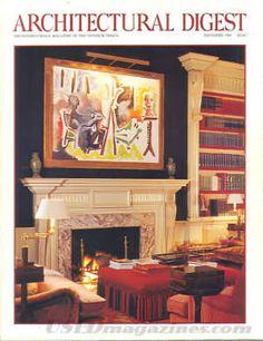 Architectural Digest December 1995