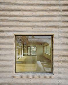 Brick Architecture, Concept Architecture, Brick Bonds, Brick Detail, Brick Facade, Amazing Buildings, Brick Patterns, Brick And Stone, Facade Design