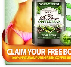 Pure Green Coffee Bean to loose weight.  On Dr. Oz Show