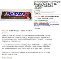 The review that will make you want to get diabetes: | 13 Amazon Reviews That Will Make Your Day Better