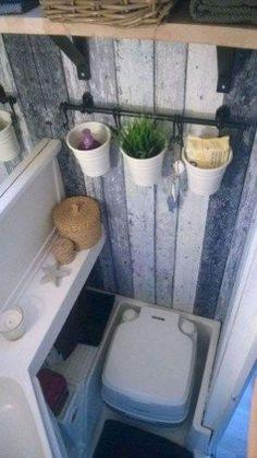 Awesome Bathroom Rvs Camper Travel Trailer Remodel Ideas 17 #vintagetraveltrailers