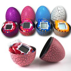 $8.49 - Nice DROPSHIPPING Multi-colors Dinosaur egg Virtual Cyber Digital Pet Game Toy Tamagotchis Digital Electronic E-Pet Christmas Gift - Buy it Now!