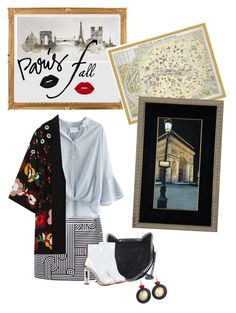 """""""Без названия #5317"""" by maria-kononets ❤ liked on Polyvore featuring Victoria, Victoria Beckham, Chicwish, RED Valentino, STELLA McCARTNEY, Chico's, Lime Crime, Graham & Brown and Art for Life"""