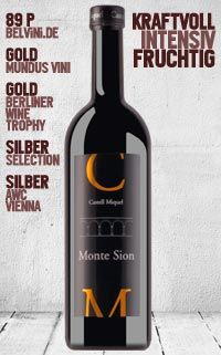 "Castell Miquel ""Monte Sion"" 2010 - http://weinblog.belvini.de/castell-miquel-monte-sion"