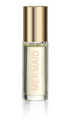 Mermaid Perfume Rollerball  Fragrance - orange blossom flowers  100% perfume oil  1/8 oz.