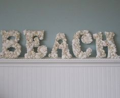 I'm going to do this with all my shells! But maybe spell out my name instead...