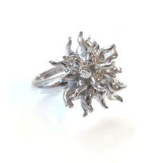 Ring Anemone (925/000 Silber)