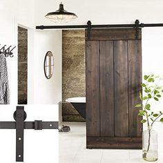 Erfect 6.6 FT Antique Style Barn Door Hardware Sliding Se...…