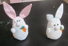 des petits lapins................
