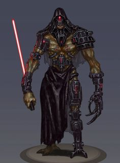Abyssin Sith lord by giantwood on DeviantArt Star Wars Characters Pictures, Star Wars Images, Book Characters, Star Wars Sith, Star Wars Rpg, Star Wars Concept Art, Star Wars Fan Art, Sith Armor, Darth Bane
