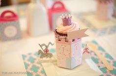 Castle Cupcake Holders