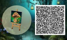 Tree paintings ACNL QR Codes ACNL Animal crossing qr