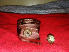 Bracelet and ring from buttons