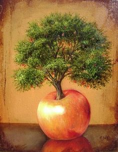 FANTASTIC TREES by Ricardo Solis, via Behance