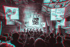 The Black Angels at Liverpool International Festival Of Psychedelia  Clemens Mitscher Rock & Roll Fine Arts