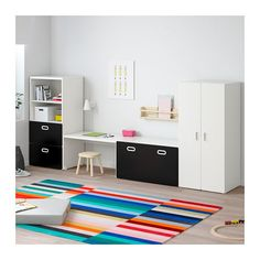 IKEA offers everything from living room furniture to mattresses and bedroom furniture so that you can design your life at home. Check out our furniture and home furnishings! Ikea Kids Room, Kids Bedroom, Playroom Storage, Ikea Kids Storage, Toy Storage, Kids Decor, Home Decor, Girl Room, Home Furnishings