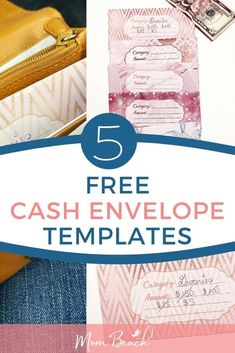 You won't believe how easy the cash envelope system is with these 5 free cash envelope templates. DIY cash envelopes are great to print out. These free printable cash envelope templates make cash envelope budgeting quick and easy! You simple put categorie Printable Budget, Printable Planner, Free Printables, Budget Envelopes, Cash Envelopes, Budgeting Finances, Budgeting Tips, Ways To Save Money, Money Saving Tips