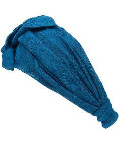 Missoni Blue Chunky Turban Headband