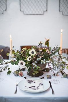 Christmas Table Inspiration – A Modern Irish Celebration, The Informal Florist via One Fab Day
