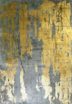 Grey and gold Leslie Sinclair -Segreto Gallery- Glitz - Mixed Media on Canvas - 40 in. x 30 in. Ps Wallpaper, Metallic Wallpaper, Collage Kunst, Grey And Gold, Mixed Media Canvas, Gold Leaf, Textures Patterns, Abstract Art, Abstract Paintings