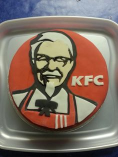 Probably my favourite one I've ever created. KFC cake which was donated and raised over for charity :) Kfc Cake, Food Cakes, Amazing Cakes, Charity, Cake Recipes, My Favorite Things, Create, Cakes, Easy Cake Recipes