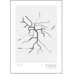 Kreativitum poster Paris 50x70cm