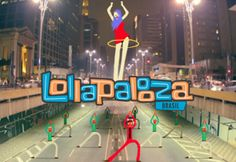 """Lollapalooza Brasil 2013"" - Daniel Semanas e Banzai Studio by ParanoidBR. Agência: GEO Eventos"