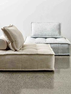 Sienna Lounge - The Rug Collection Sofa Furniture, Online Furniture, Furniture Design, Modular Lounges, Modular Sofa, Floor Seating, Lounge Seating, Sofa Design, Interior Design
