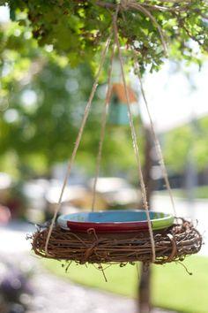 DIY bird feeder or bird bath | Creative Gift Ideas