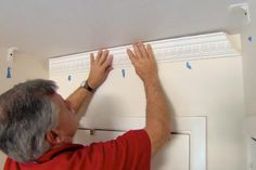 with general contractor Tom Silva | thisoldhouse.com | from How to Install Foam Crown Molding