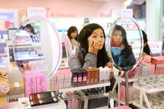 This resource is an article from the Travel section of NYtimes. It outlines the standard of beauty of Korean women and how it differs entirely to American women. Skin Trade, Korean Products, Asian Skincare, Best Natural Skin Care, Beauty Hacks, Beauty Spa, Korean Beauty, Ny Times, Health And Beauty