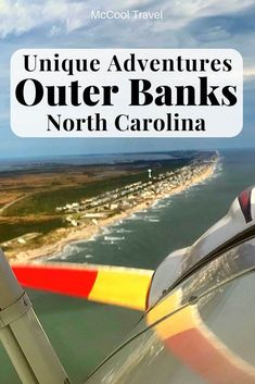 Unique activities and fun things to do in Outer Banks North Carolina include an open air cockpit biplane. Places In Usa, Places To Travel, Travel Destinations, Usa Travel Guide, Travel Usa, Globe Travel, Travel Guides, Travel Tips, Easy Adventure