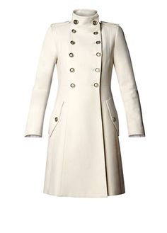 Military mantel damen mango