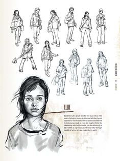 The Last Of Us Ellie Concept Artconcept Art World The Art Of The Last Of Us Vtxdis